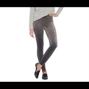 Spanx Velvet Leggings Size M